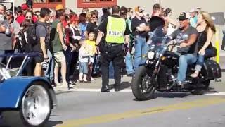 Parade of Power 2016 @ Bikes, Blues & BBQ