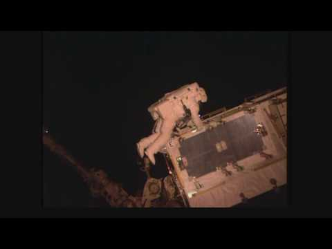 Space Station Spacewalkers Continue Power Upgrades on Orbital Outpost