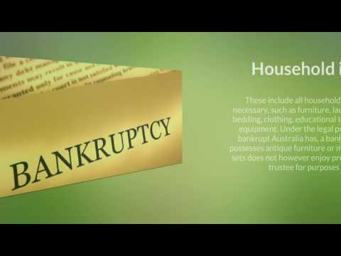 Going Bankrupt Australia: Identifying Non Divisible Assets in Bankruptcy