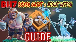 Clash Of Clans | BH7 3 STAR ATTACK WITH (B.GAINT+N.WITCH)