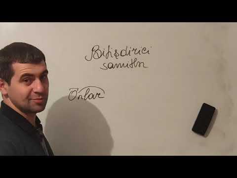 Azərbaycan dili (şəkilçilərin yazılışı,bitişdirici samitlər)
