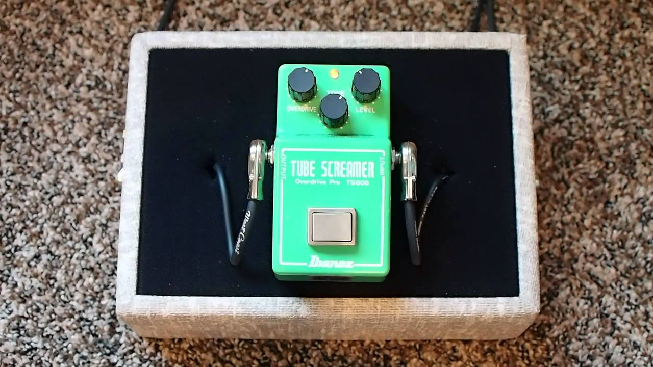 Ibanez TS-808 Tube Screamer with Analog Man True Vintage Mod