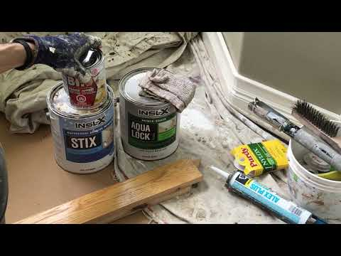 Converting Stained/Varnished Wood To Paint