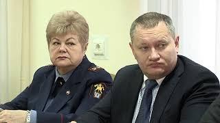 Заседание комиссии по чрезвычайным ситуациям.