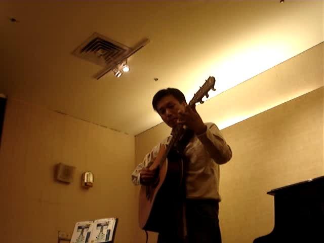 盧家宏吉他演奏  流沙