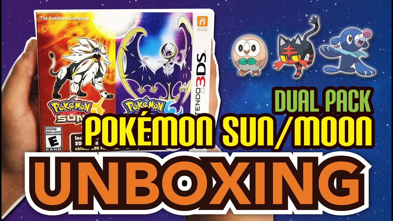 Pokemon sun & moon pack