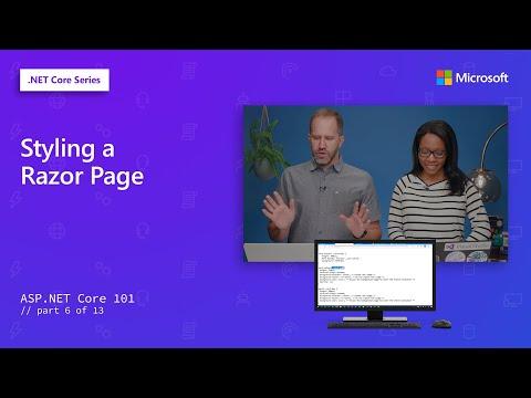 Styling A Razor Page | ASP.NET Core 101 [6 Of 13]