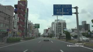 4K動画4K video ドライブ 愛知県名古屋市千種区から名古屋駅迄