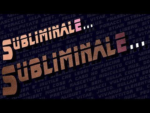MESSAGGI SUBLIMINALI su YouTube: Un CANALE IDIOTA