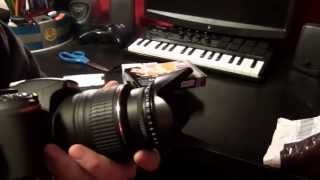 52mm vivitar macro set 1 2 4 10 and filter kit uv cpl fld unboxing and test