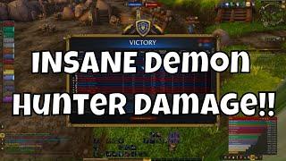 Demon Hunter Damage is INSANE!! - Havoc Demon Hunter PvP - WoW BFA 8.2