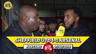 Sheffield Utd 1-0 Arsenal | Tierney Should Have Started!! (Livz)