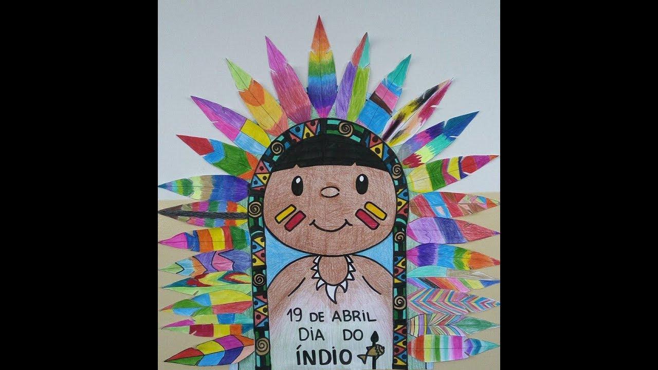 Arte Plumaria Cocar Indigena Coletivo Youtube