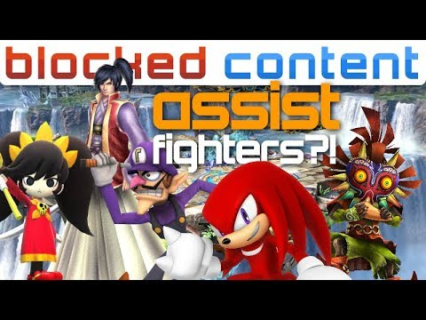 Do ASSIST TROPHIES Have A Chance Being PLAYABLE?! Super Smash Bros Ultimate  Leak Speak