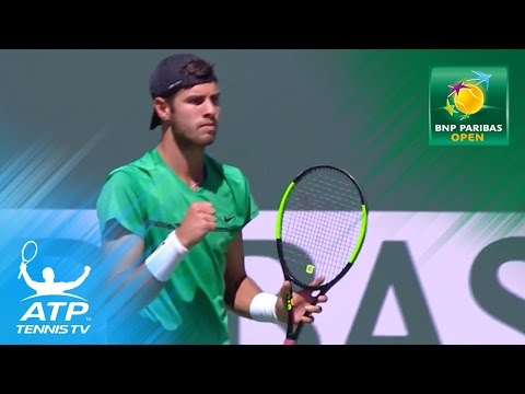 Indian Wells 2017 Highlights: Day 1 at the BNP Paribas Open