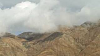 San Jacinto Fault steaming after rain 2.AVI