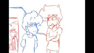 Car moment with Tom and tord [Actual Dad AU] ANIMATIC