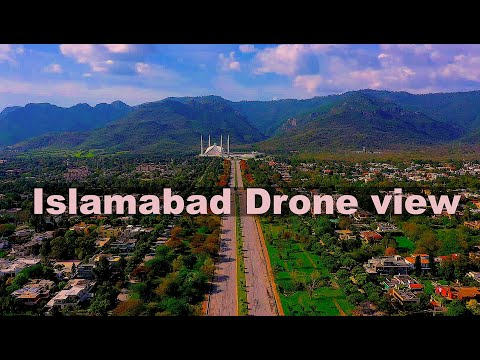 Islamabad Drone view 2021| Aerial View of Islamabad | Beautiful Capital of Pakistan|KB FILMSPakistan