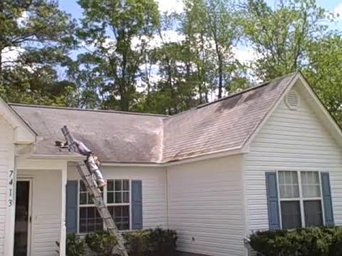 Non Pressure Roof Washing Leland Nc Wilmington Nc