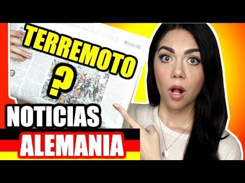 QUÉ DICEN LAS NOTICIAS EN ALEMANIA DEL TERREMOTO EN MÉXICO | MARIEBELLE TV