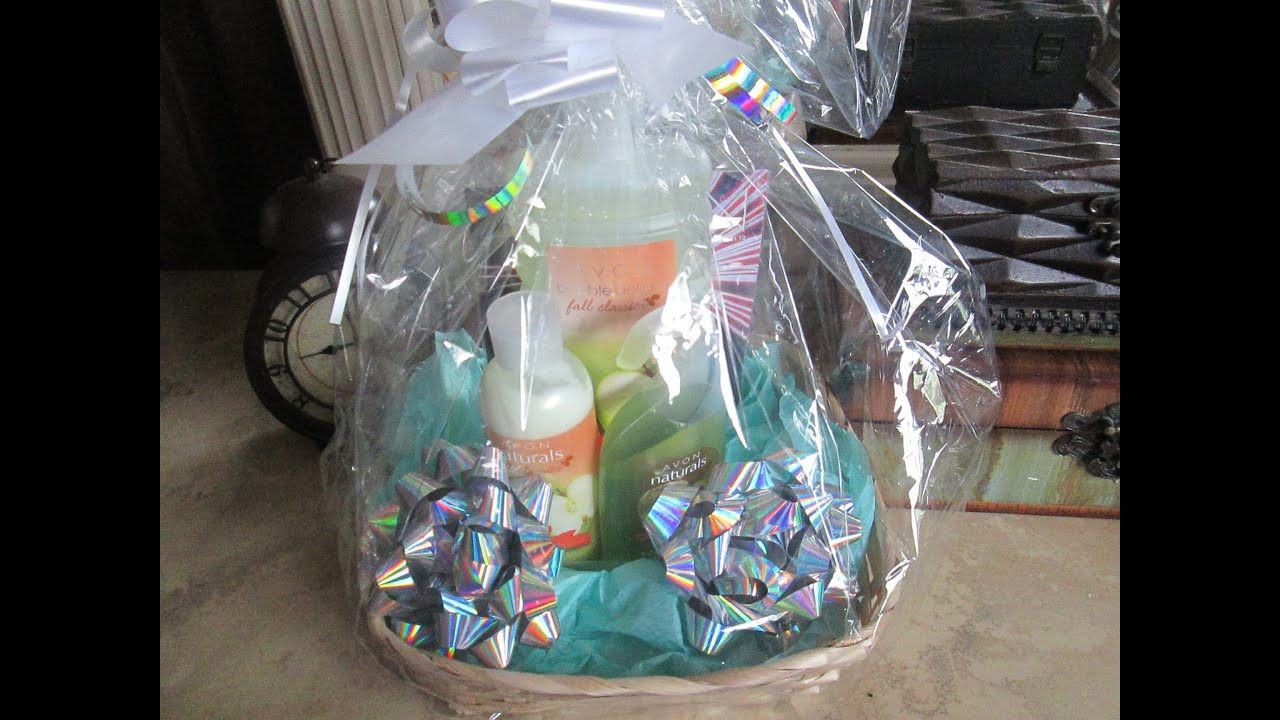 Making baskets for avon events youtube making baskets for avon events negle Images