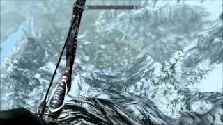 Elder Scrolls V Skyrim: The longest arrow in the knee shot ever
