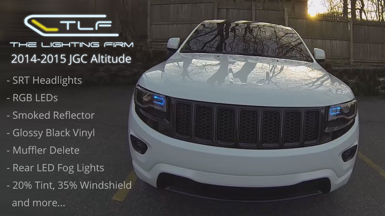 2014 2015 JGC Altitude Custom SRT Headlights RGB LEDs
