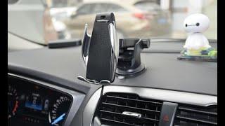 Беспроводная зарядка для телефона в автомобиль. Работает?