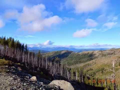 Chetco Divide Trail / Kalmiopsis Wilderness Oregon November 2014