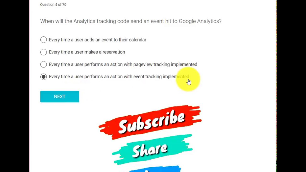Google Analytics Certification Exam Answers July 2018 98 Correct