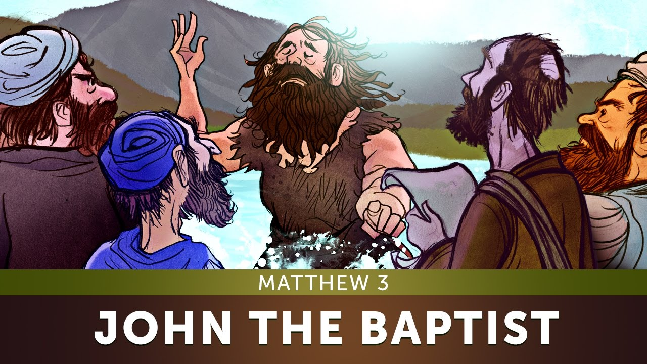 Bible Quotes About St John The Baptist: John The Baptist Bible Story - Matthew 3