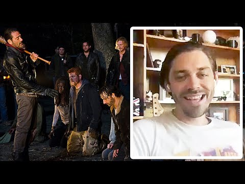 Tom Payne On If Negan's Line-Up was Justified in The Walking Dead
