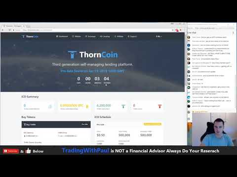 LIVE   Buying Thorncoin ICO How to buy THORN COIN