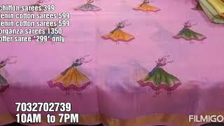 #chiffon sarees# lenin cotton sarees # lenin cotton sarees #organza sarees