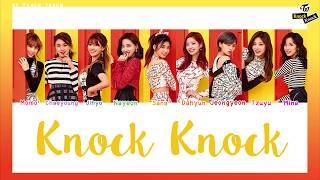 [COLOR CODED/THAISUB] TWICE - Knock Knock #พีชซับไทย