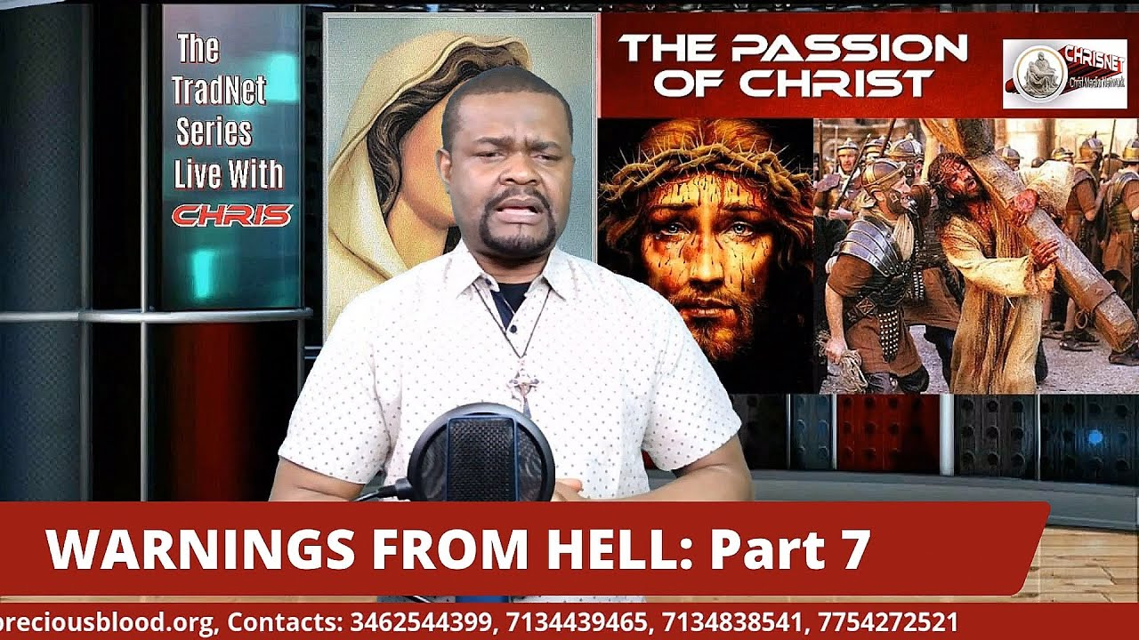 """WARNINGS FROM HELL: Part 7 """"THE PASSION OF CHRIST"""" (The forced confession of Beelzebub continued)"""
