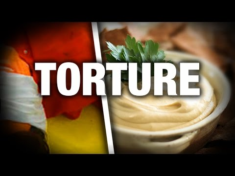 Torture Report Includes 'Rectal Hummus' & Other Shocking Brutalities