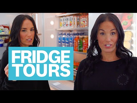 Inside The D'Amelio Family Fridge: Heidi Shares Her Go-To Groceries | Fridge Tours | Women's Health