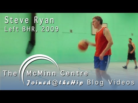 Basketball, Cycling and Skiing after a Birmingham Hip Resurfacing (BHR) - Steve Ryan