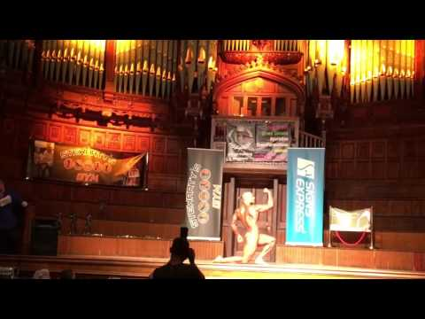 IBFA Mr Ireland - Eddie Drummond Posing Routine - Mr Class 1 Winner