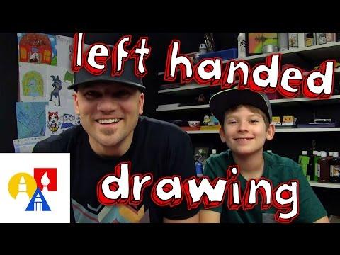 Left Handed Drawing Challenge + SYA