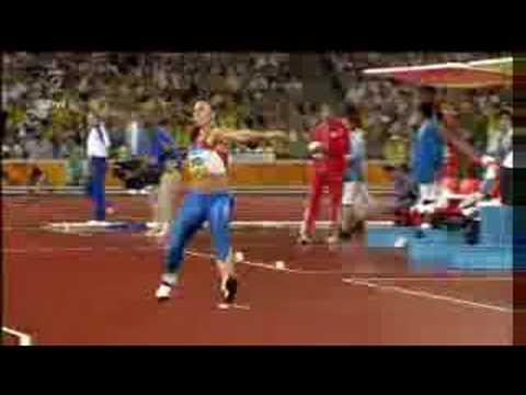 Barbora Špotáková - zlato Peking 2008 cz komentář - 71,42m