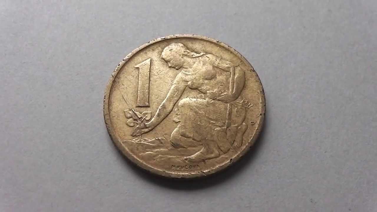 1 Heller Münze Aus Der Tschechoslowakei Ceskoslovenska