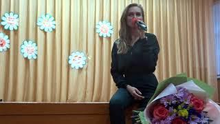 Ханна на фан-встрече в Чебоксарах исполнила песню