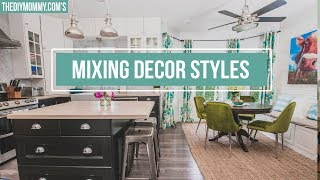 How To Mix Decor Styles In Your Home