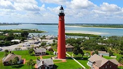 Ponce de Leon Inlet Lighthouse Drone Footage - Ponce Inlet, FL