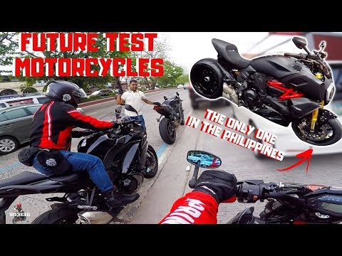 FUTURE TEST MOTORCYCLES | MOTOVLOGGING TIP HUWAG KAYO MAGALIT | R&G RACING |  TAGALOG VLOG | 16