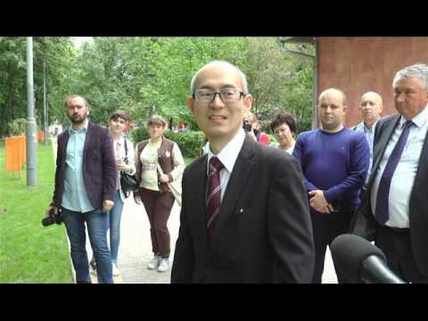 Вісник міського голови. Алея сакур як відзначення 25-річчя стосунків Україна-Японія