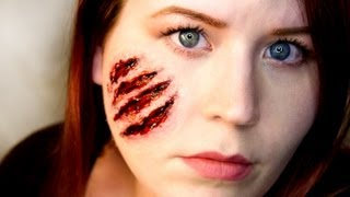 FX MAKEUP SERIES: Claw Wounds