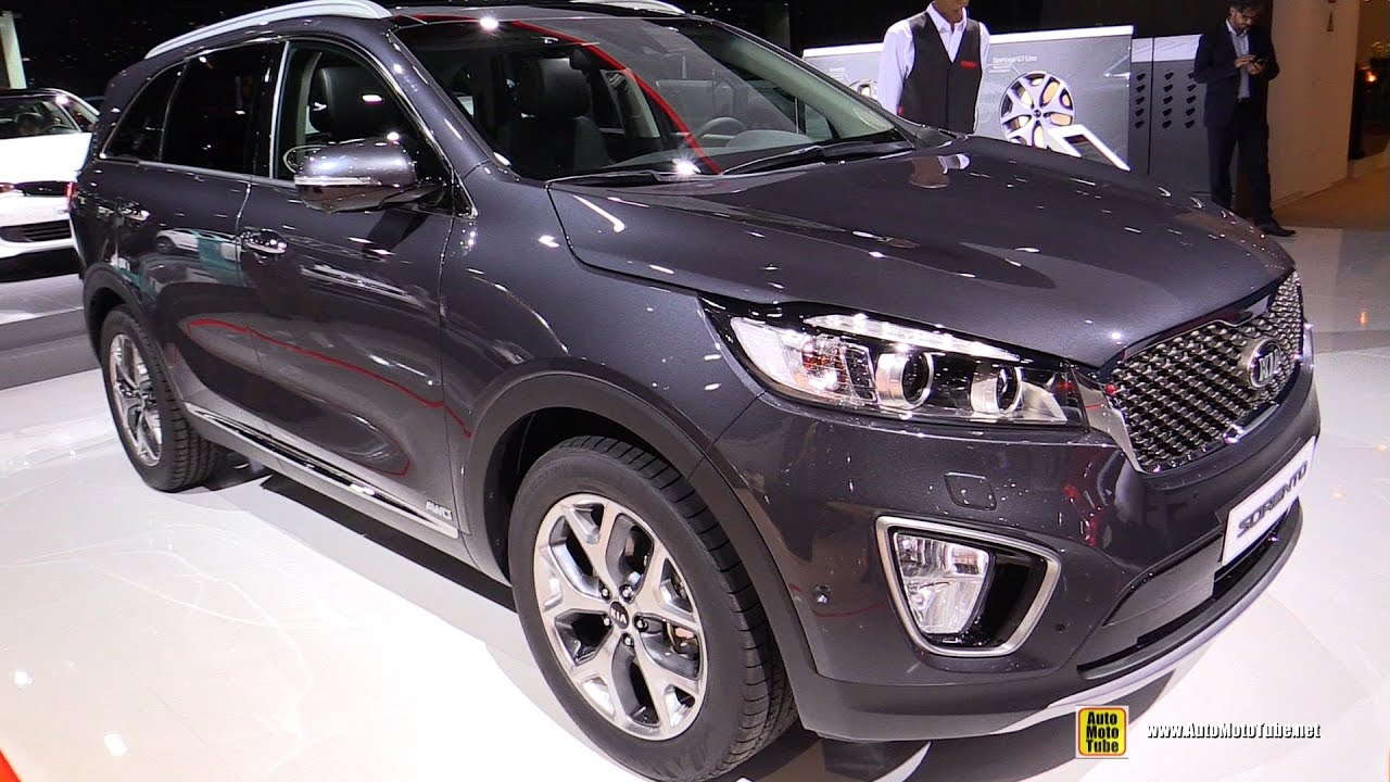 2017 kia sorento 2 2 diesel exterior and interior. Black Bedroom Furniture Sets. Home Design Ideas